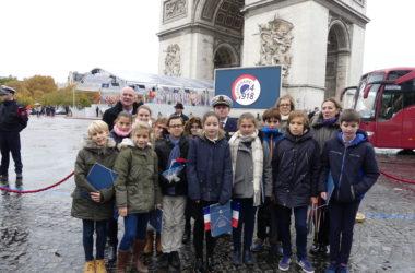 CEREMONIES DU 11 NOVEMBRE A PARIS