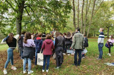 Sortie pédagogique au Parc de la Fontaine aux Fées